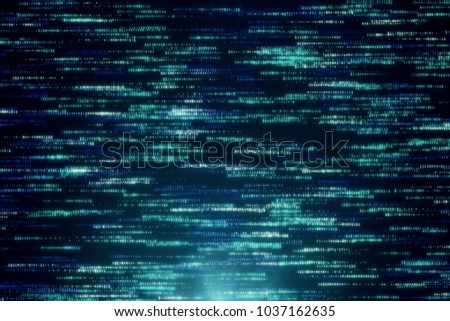 Stock Photo Abstract background of binary code 3d illustration