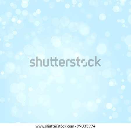 Abstract background of blue color with boke