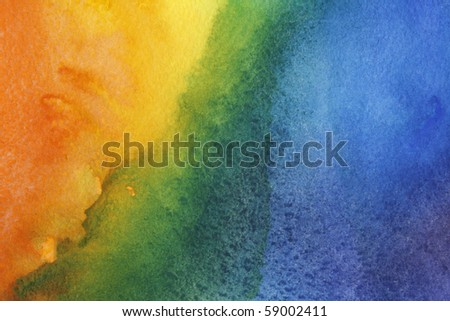 abstract background of bright and colorful watercolor