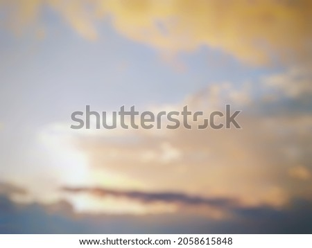 abstract background of cloud defocus