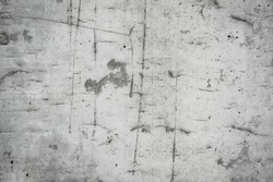 Abstract background of concrete wall showing marks of wooden formwork.Gray concrete texture with wood grain for background  wood grain imprints in a concrete wall for backgrounds