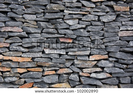 Abstract background of Granite stone wall