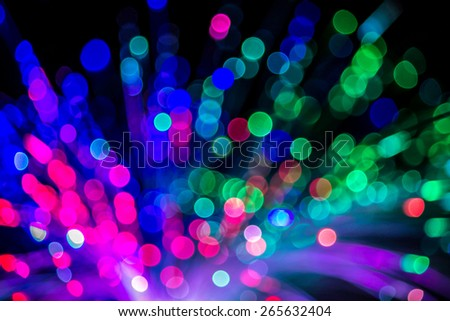 abstract background of neon lights bokeh #265632404