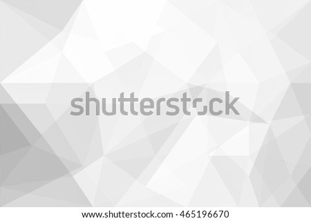 Abstract background of polygons on white background. #465196670