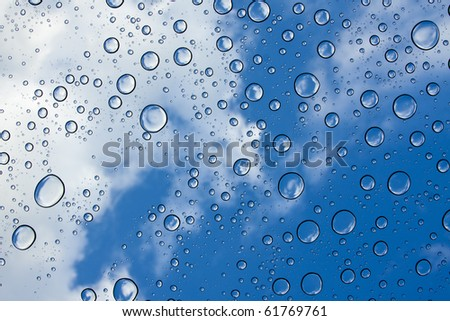 Abstract background of rain clouds