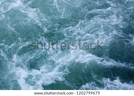 Abstract background of rapids in water