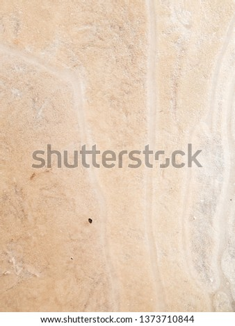 Abstract background of sand under ice. #1373710844