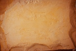 Abstract background of sandstone with light and shadow. The beauty of sandstone for the background and presentation.