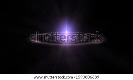 Abstract background of space portals