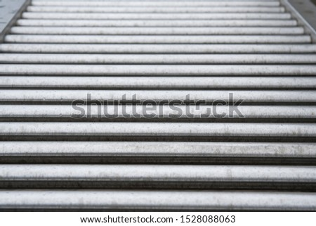 Abstract background of stainless pipes