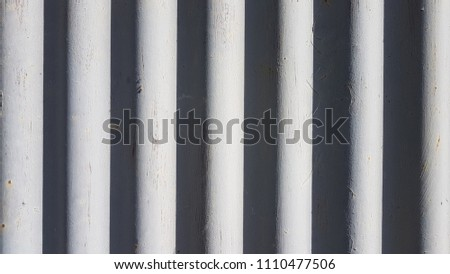 Abstract background of striped light gray stripes and dark gray stripes. #1110477506