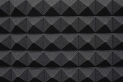 Abstract  Background of Tiles Soundproofing Foam