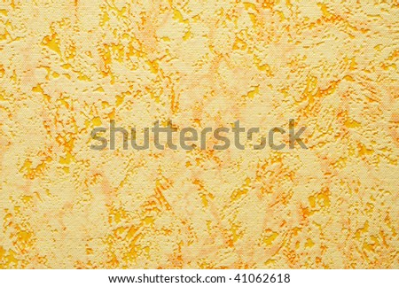 abstract background of yellow plastic, texture