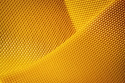 abstract background or texture background of yellow wax honeycomb
