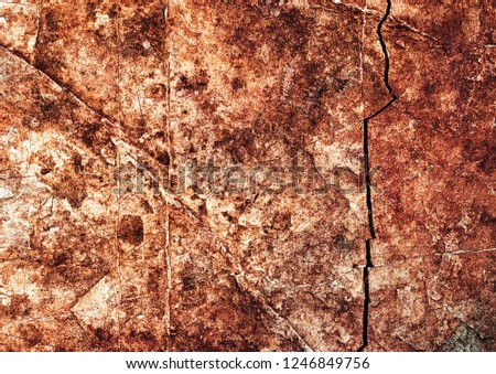 abstract background or texture brown detail old rocks with grooves