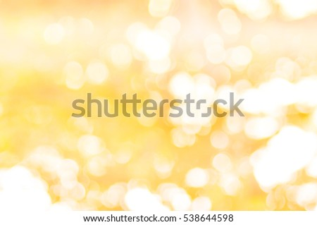 abstract background orange bokeh, ,Natural  blurred background