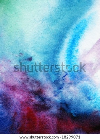 abstract background painted in watercolor