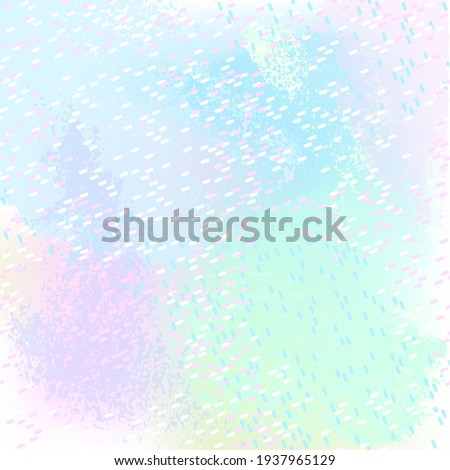 Abstract background. Pastel colors stains and many small strokes on a color background.