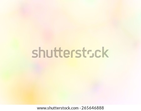 Abstract background  pattern of blurry colored light spots