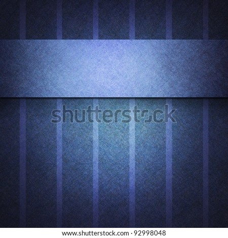abstract background pattern with striped lines on vintage grunge background textured paper, blue background for elegant invitation or dark brochure template cover design, classic background