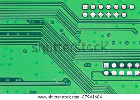 Abstract background printed circuit board