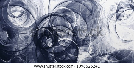 abstract background psychedelic colored penciled generated fractal circles and spirals Digital graphic design graphic astrology. alchemy. magic