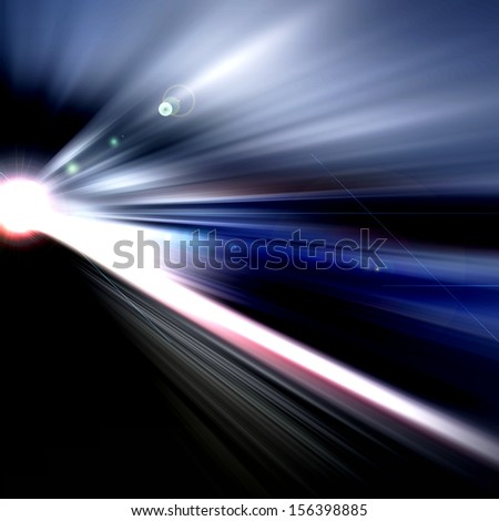 Abstract Background - rays of colorful light #156398885