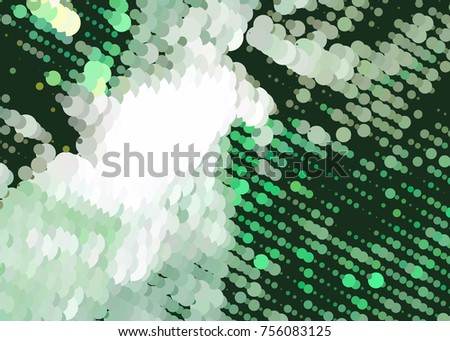 Abstract background. Spotted halftone effect. Raster clip art. #756083125