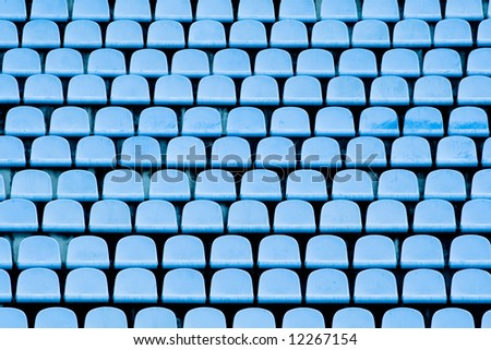 abstract background (stadium chairs)