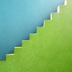 abstract background stairs material design vibrant colors