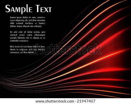 Abstract background template with copyspace