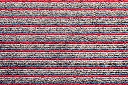 Abstract Background texture of the fabric door mat