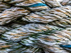 Abstract Background Texture Of Weathered Nautical Rope