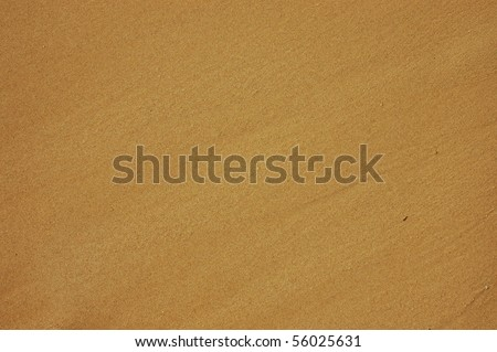 Abstract Background Texture of Wet Sand on a Beach