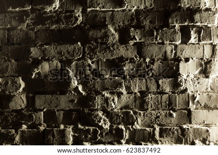 Brick Wall Interior Decor And Sign Images And Stock Photos