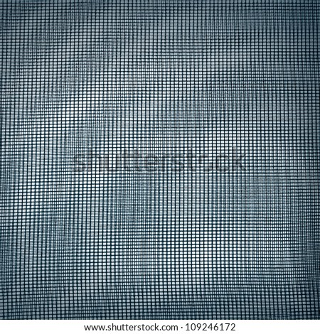 Abstract background texture with two layered blue light tulle