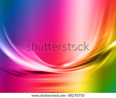 Abstract background using a spectrum of colours