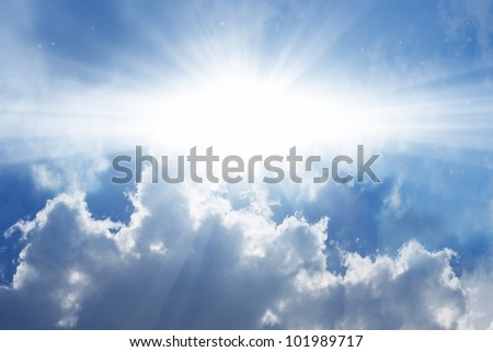 Heaven Cloud Backgrounds Abstract background - white