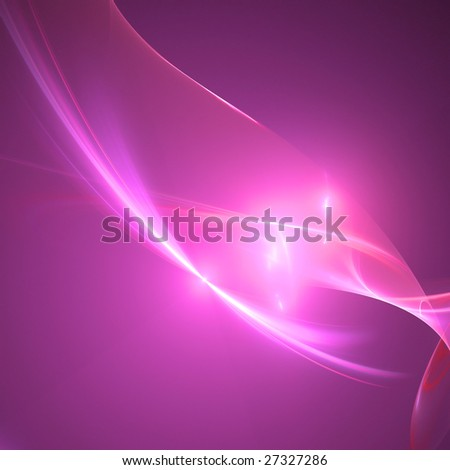 Abstract background. White - purple palette. Raster fractal graphics.