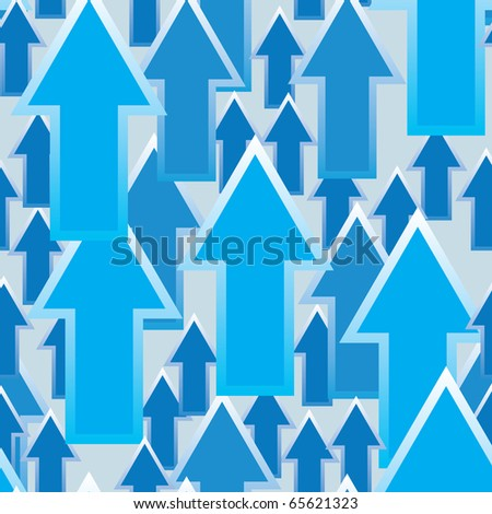 Abstract background with arrows. Seamless pattern. Raster illustration.
