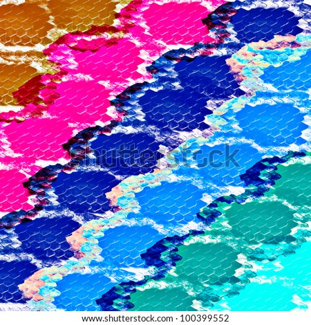 Abstract background with boa skin pattern