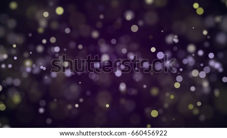 abstract background with bokeh defocused lights and shadow. 3d render - Shutterstock ID 660456922