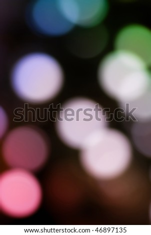 abstract background with colorful lights out of focus - stock photo