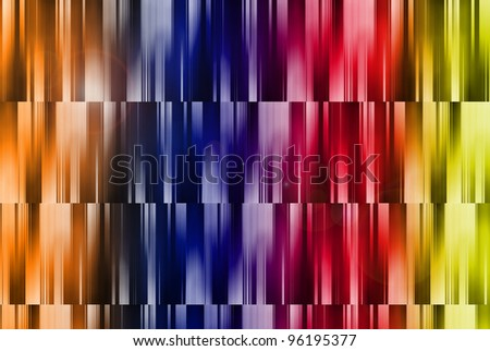 abstract background with colorful shining random pattern, useful for icon, logo and concept design
