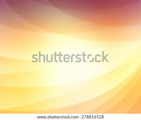 abstract background with curved lines in gold purple and orange, business background concept, shiny gold line design elements