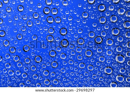 Abstract background with drops of water
