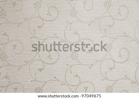 Abstract background with flowers in grey