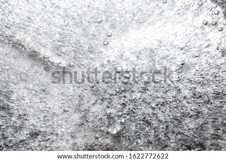 Abstract background with frozen ice texture. Place for text