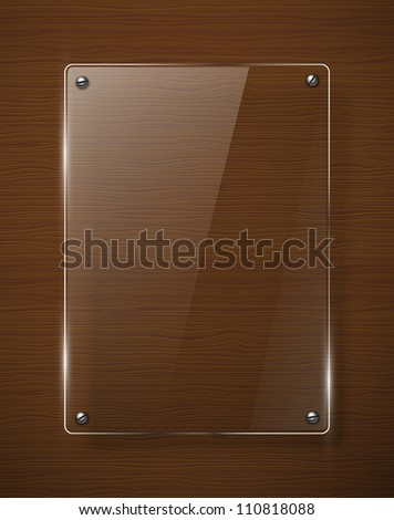 Abstract  background with glass framework. Jpeg version.
