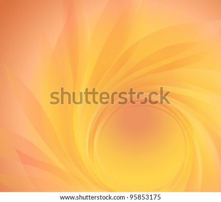abstract background with orange petal
